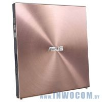 ASUS SDRW-08U5S-U, Pink USB, лоток, Slim, RTL