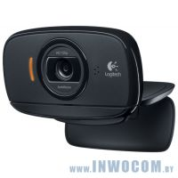 Logitech HD WebCam C525 (960-001064) Black RTL