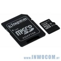 SDHC-micro Card 16Gb Kingston Class 10 SDC10G2/16GB