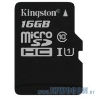 SDHC-micro Card 16Gb Kingston Class 10 SDC10G2/16GBSP