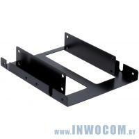 Крепление для SSD/HDD 2x2.5в отсек 3.5 Aerocool металл