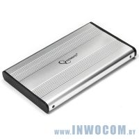 Внеш.корпус д/SATA 2.5 Gembird EE2-U2S-5-S, серебро, USB 2.0