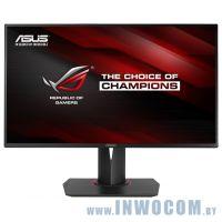 Уцен. 27 ASUS ROG Swift PG27AQ GAMING Black с поворотом экрана (LCD, Wide, 3840x2160, HDMI, DP, USB