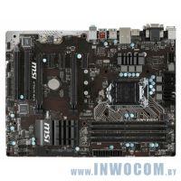Уцен. MB MSI H170A PC MATE Soc-1151 iH170 2xPCI-Ex16 3xPCI-Ex1 2xPCI USB3.0 4xDDR4-2133 1xM.2 6xSATA