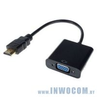 Кабель-адаптер HDMI (M) - VGA (15F) Telecom TA558