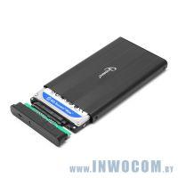 Внеш.корпус д/SATA 2.5 Gembird EE2-U2S-5-S, Black, USB 2.0