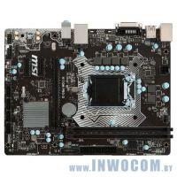 Уцен. MB MSI H110M PRO-D Soc-1151 (H110) PCI-E DVI GbLAN SATA MicroATX 2DDR4