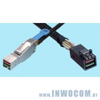 Кабель SFF-8644 - SFF-8643 ACD EXT HD MINI SAS 180D CABLE 0,7M , Int/Ext, W/ Full Height Bracket, 70