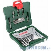 Набор инструментов Bosch X-Line-33 33 шт (торцовые головки, биты)
