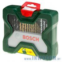 Набор инструментов Bosch X-Line-30 30 шт (торцовые головки, биты)