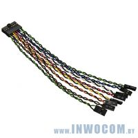 Кабель SuperMicro 6-Inch 16Pin Front Control Split Cable (CBL-0084L)