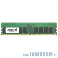 16Gb PC-19200 DDR4-2400 Crucial CT16G4RFD824A ECC Registered