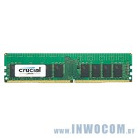 16Gb PC-19200 DDR4-2400 Crucial CT16G4RFD424A ECC Registered