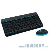 Logitech Wireless Combo MK240 Nano Black (920-008213) RTL