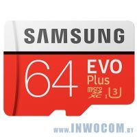 SDXC-micro Card 64Gb Samsung Class 10 MB-MC64GA/RU