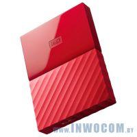 2.5 1Tb Western Digital My Passport WDBBEX0010BRD-EEUE Red (USB3.0)