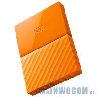 2.5 1Tb Western Digital My Passport WDBBEX0010BYL-EEUE Yellow (USB3.0)