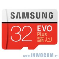 SDHC-micro Card 32Gb Samsung EVO Plus (MB-MC32GA/RU) + Adapter