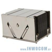 Радиатор S-2011 SNK-P0048PS 2U (2011 Narrow, радиатор без вентилятора, Cu+Al+тепловые трубки)