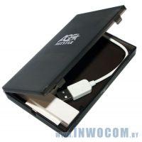 Внеш.корпус д/SATA 2,5 AgeStar SUBCP1 Black USB2.0