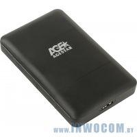 Внеш.корпус д/SATA 2,5 AgeStar 3UBCP3-Black USB3.0