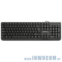 Defender OfficeMate HM-710 Black (USB) 104КЛ (45710)