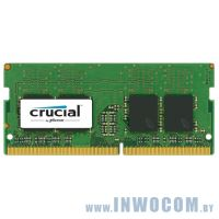 16Gb PC-19200 DDR4-2400 Crucial CT16G4SFD824A (SODIMM)