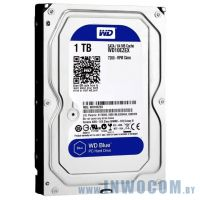 1000GB Western Digital Caviar Blue (WD10EZEX-FR) AV-GP 64Mb 6Gb/s recertified