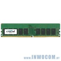 16Gb PC-19200 DDR4-2400 Crucial (CT16G4WFD824A) CL17 ECC