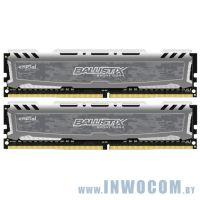 16GB DDR IV KiTof2 PC-21300 2666MHz Crucial Ballistix (BLS2C8G4D26BFSBK)