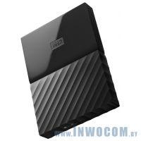 2.5 4Tb Western Digital My Passport WDBYFT0040BBK-WESN Black (USB3.0)