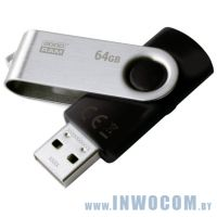 64Gb Goodram UTS2 (UTS2-0640K0R11) Black (USB2.0)