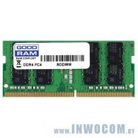 16Gb PC-19200 DDR4-2400 Goodram (GR2400S464L17/16G) (SODIMM)