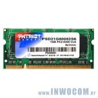 1Gb PC-6400 DDR2-800 Patriot PSD21G80082S (SODIMM)