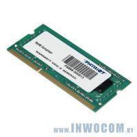 4Gb PC-12800 DDR3-1600 Patriot (PSD34G160081S) (SODIMM)