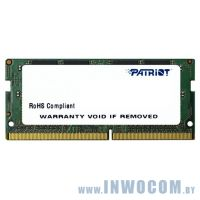 16Gb PC-17000 DDR4-2133 Patriot PSD416G21332S (SODIMM)