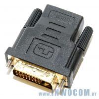 Переходник HDMI 19F - DVI-D 25M 5bites (DH1803G)
