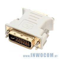 Переходник DVI-I - VGA 15F 5bites (VD1028G)