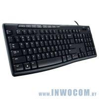 Logitech Media Keyboard K200 Black (920-008814)