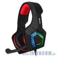Sven AP-U880MV (Black-Red) (микрофон + наушники)