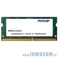 4Gb PC-19200 DDR4-2400 Patriot (PSD44G240081S) (SODIMM)