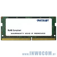 16Gb PC-19200 DDR4-2400 Patriot [PSD416G24002S] (SODIMM)