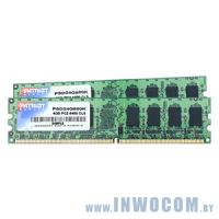 4Gb (2x2Gb) PC-6400 DDR2-800 Patriot PSD24G800K
