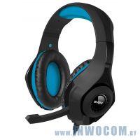 Sven AP-G887MV black-blue (микрофон + наушники)