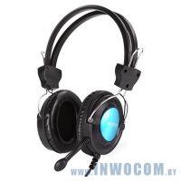 A4-Tech HS-19-3 с микрофоном BLUE