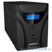 Ippon Smart Power Pro II Euro 1200 Black