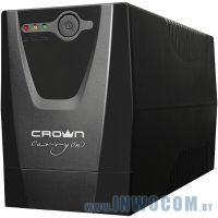 CROWN (CMU-500X IEC) 480VA 240 Вт, line-interactive, 3 розетки IEC320-C13