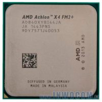 AMD Athlon X4 830 AD830XYBI44JA (X4, 3.0-3.4GHz, 4Mb L2, 65W, Kaveri) OEM