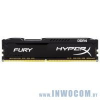 16GB DDR IV KiTof2 PC-27700 3466MHz Kingston HyperX Fury (HX434C19FB/16) Black 1.2V CL18 RTL