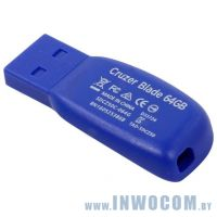 32Gb Sandisk Cruzer Blade SDCZ50-032G-B35BE Blue USB 2.0 RTL